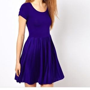 French connection Penny pleated dress